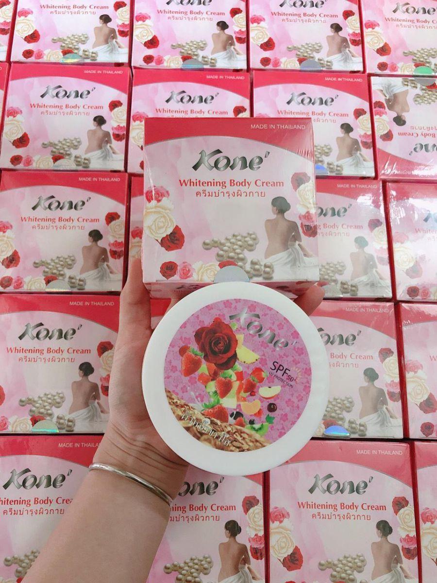 Body Kone Hồng - Hoa hồng dưỡng trắng