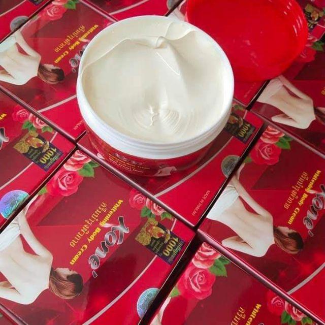 Body Kone Đỏ - Tinh chất hoa hồng dưỡng trắng