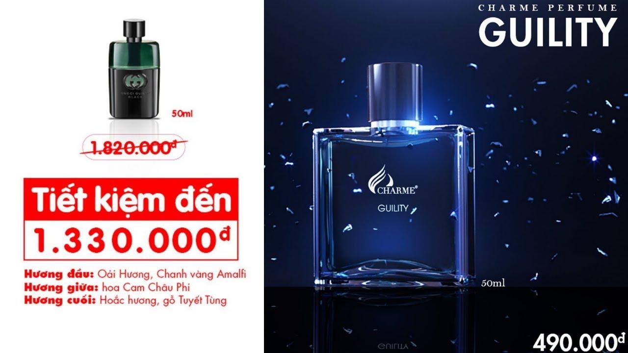 Charme - Guility 50ml - Nước hoa nam