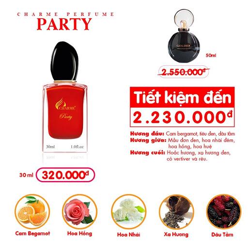 Charme - Party 30ml - Nước hoa nữ