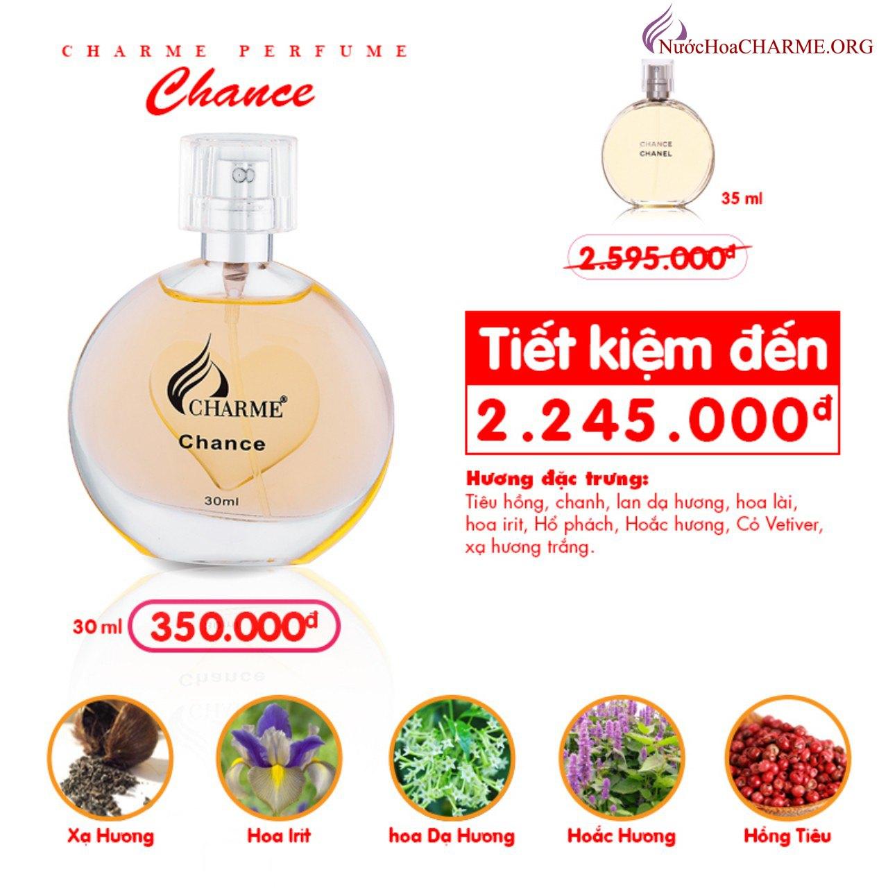Charme - Chance 30ml - Nước hoa nữ