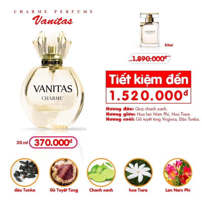 Charme - Vanitas 30ml - Nước hoa nữ