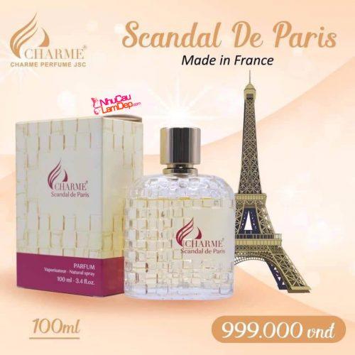 Charme - Scandal de Paris 100ml - Nước hoa nữ độc quyền