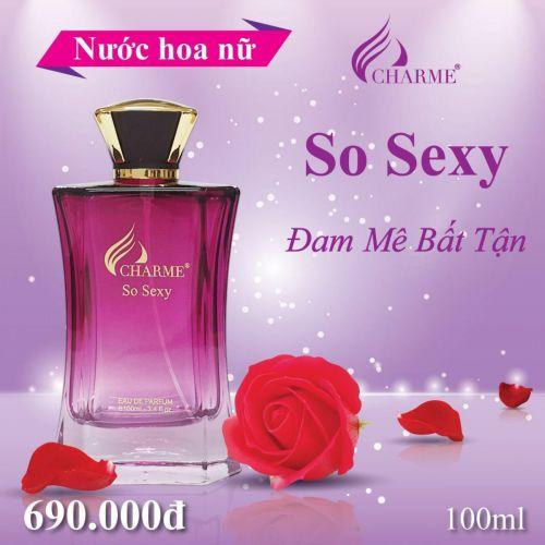 Charme - So Sexy 100ml - Nước hoa nữ