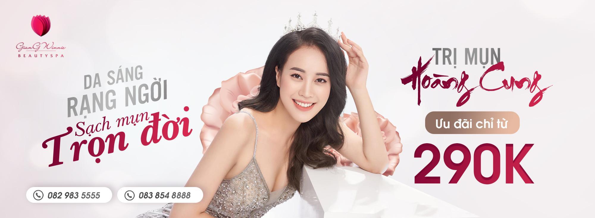 Trị Mụn Hoàng Cung Giang Winnie